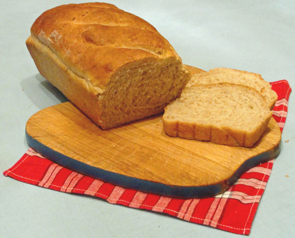 Buttermilk Wheat and Rye Bread