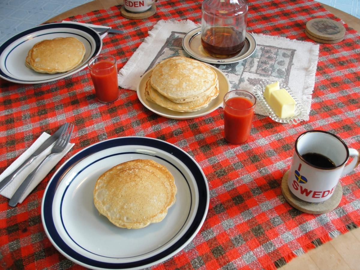 Buttermilk Whole WheatPancakes