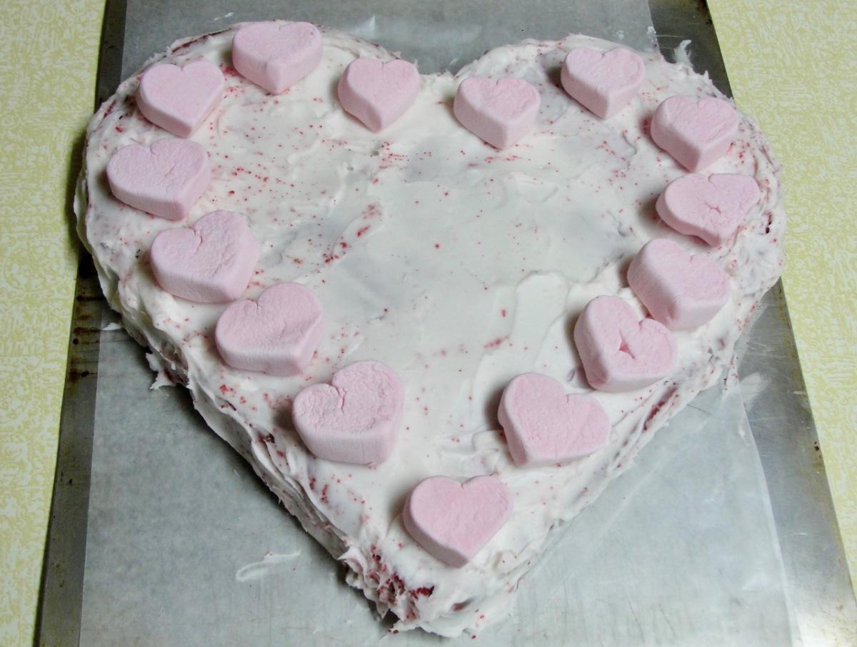 Jeanni's Red Velvet Cake-an EdibleValentine