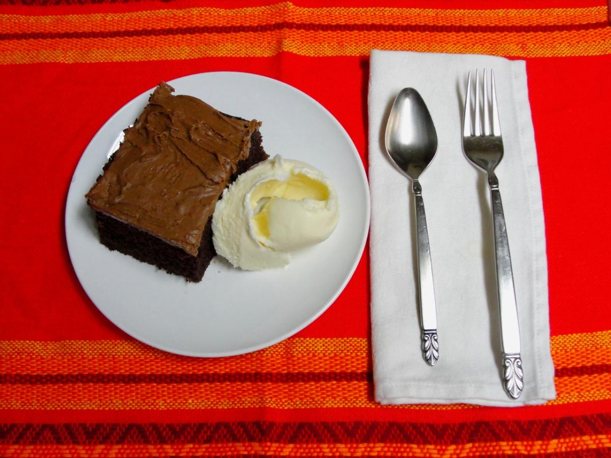 Jill's Moist ChocolateCake