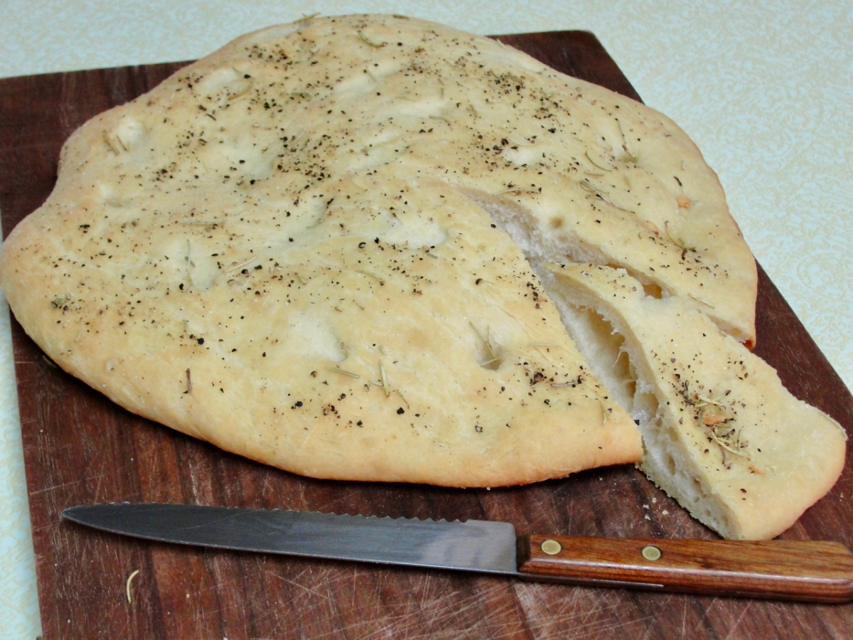 Like James Beard's Pizza CacciaNanza