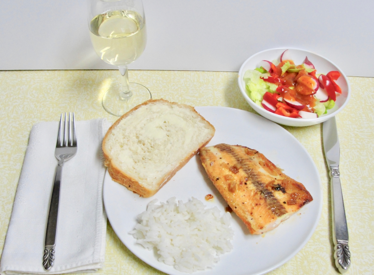 Mary's Broiled Salmon With Marmalade