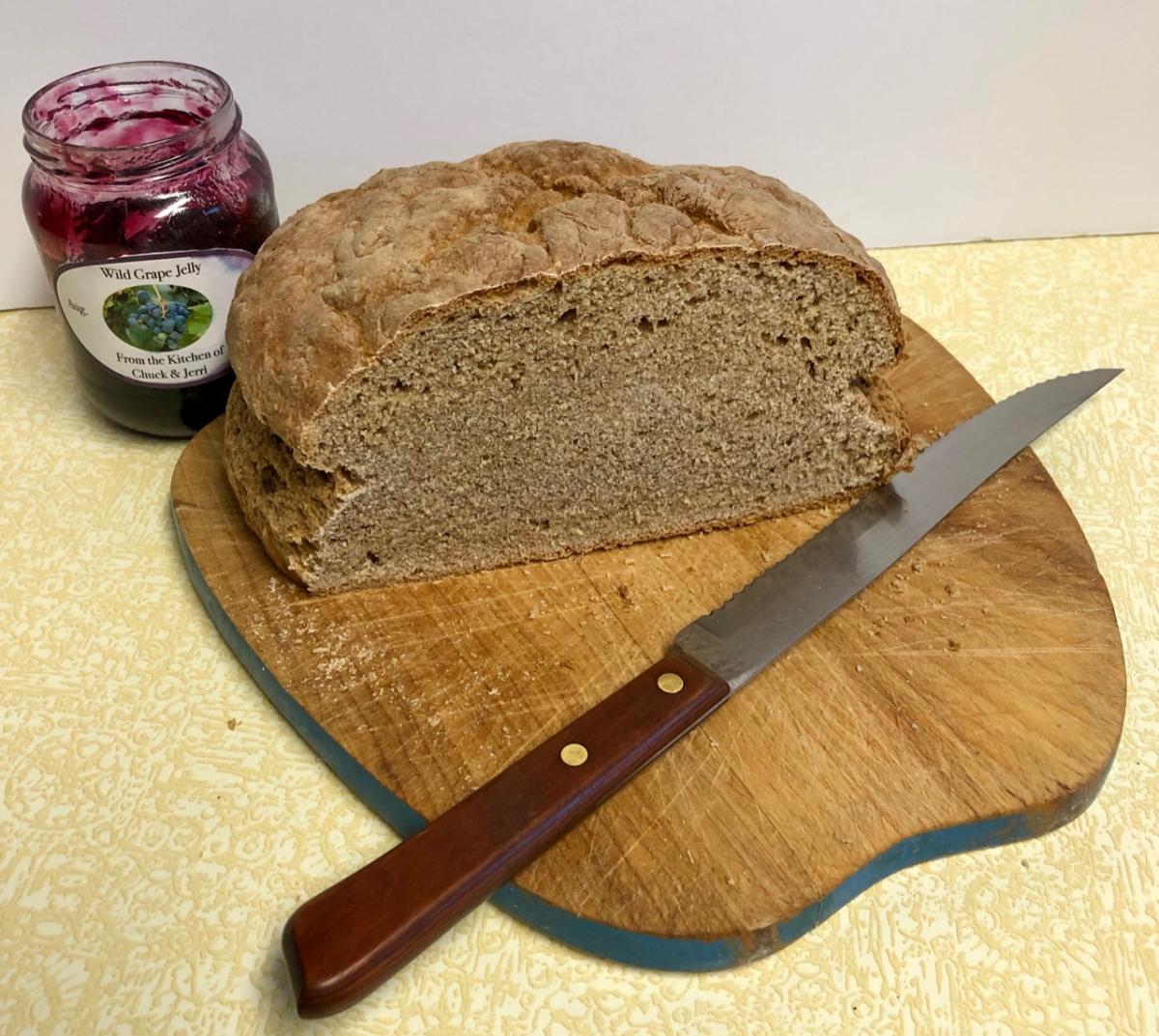 Whole Wheat Irish SodaBread