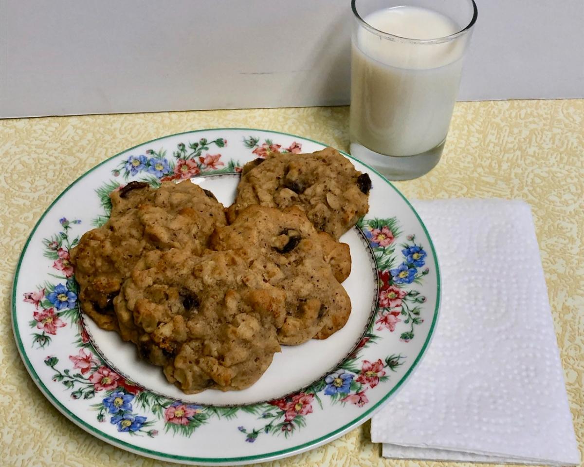 Teri's Grandma's Oatmeal RaisinCookies