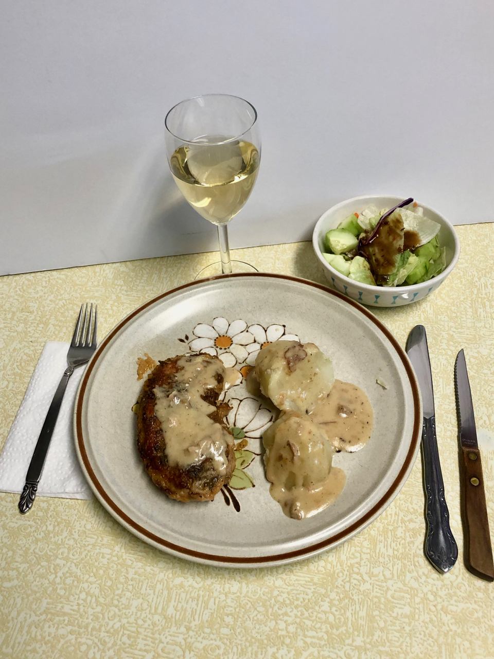 Pork Chops With Fragrant Gravy