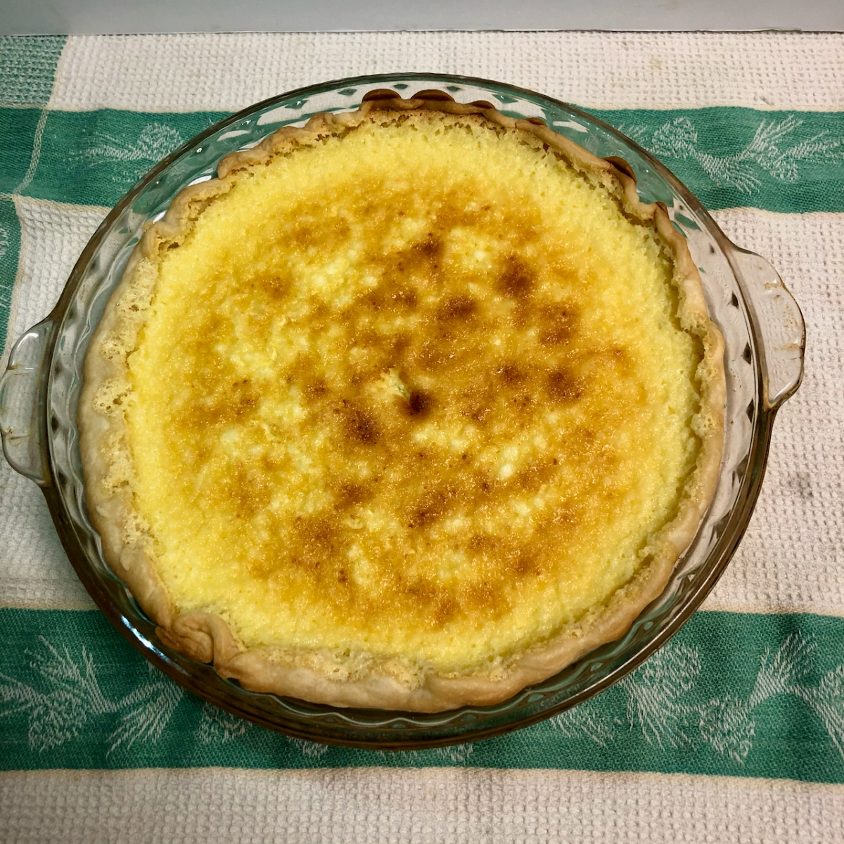 Grandma Rang's Cottage Cheese Pie
