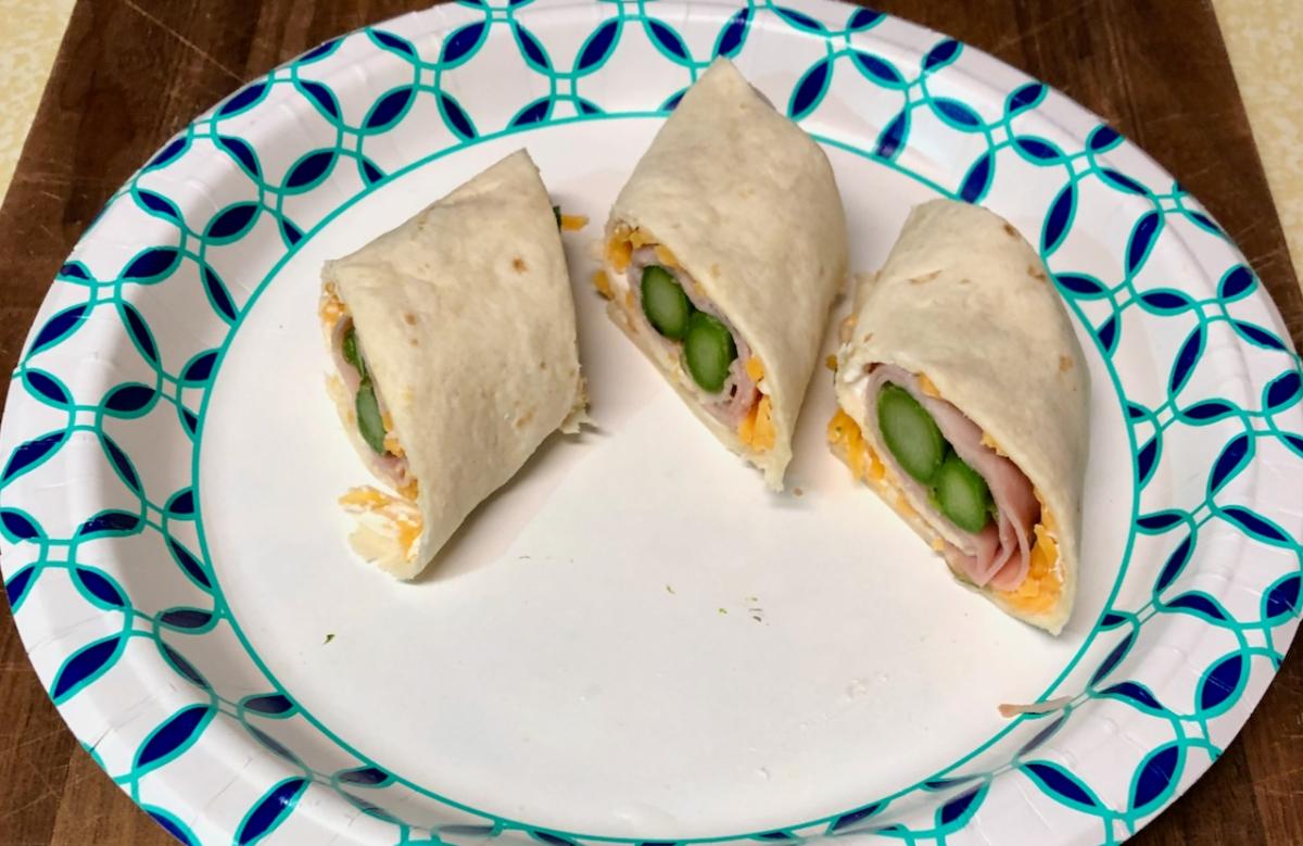 Susanne's Asparagus-Ham Roll–ups